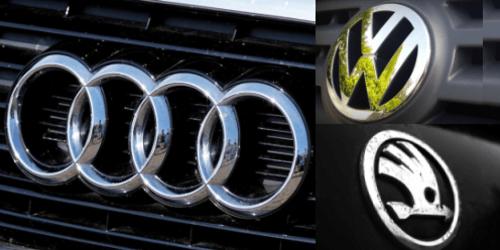 Audi, VW, Skoda