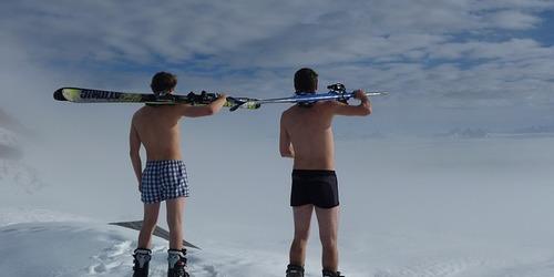 Unfallversicherung für Wintersportler