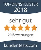 bohn-finanz, Top- Dienstleister 2018, Versicherung Stuttgart, Versicherung Filderstadt