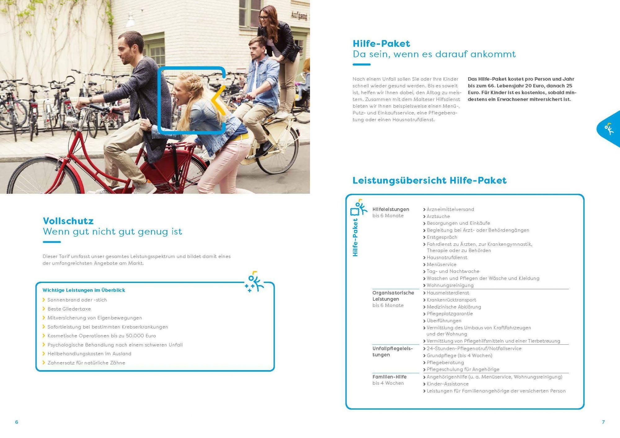 Haftpflichtkasse Unfall, Hilfepaket, Unfallversicherung, Stuttgart, Filderstadt