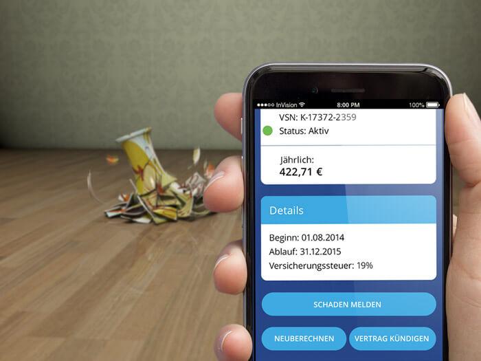 Versicherungsmanager App
