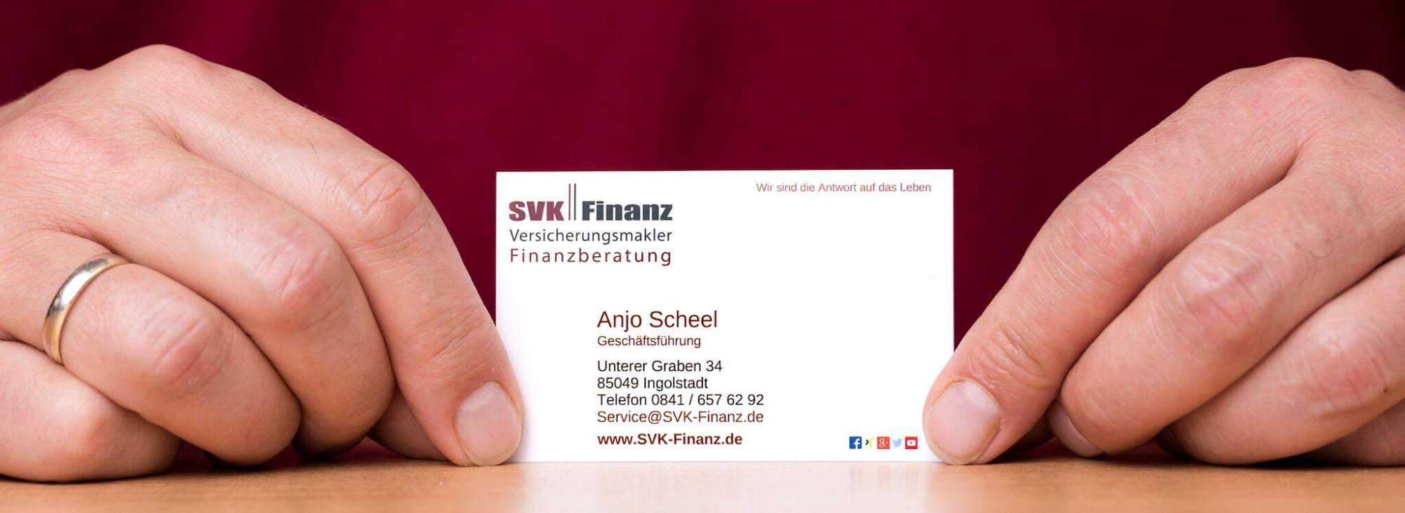 Versicherungen und Finanzen in Ingolstadt - Das Geschäft der SVK Finanz