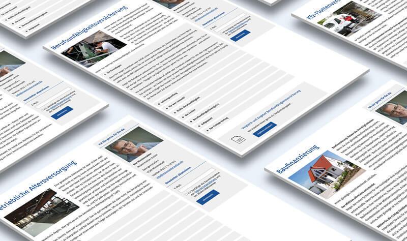 Fertige Fachinhalte und Textbausteine für Versicherungsmakler