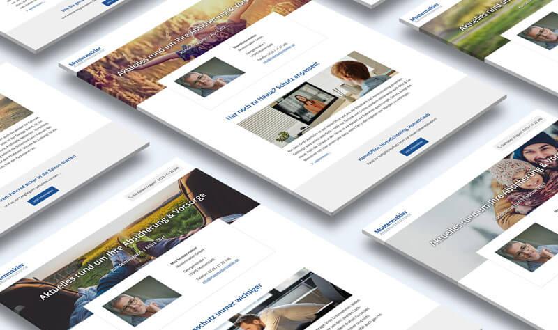 Digitales Kundenmagazin für Versicherungsmakler