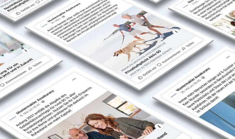 Social-Media-Marketing für Versicherungsmakler