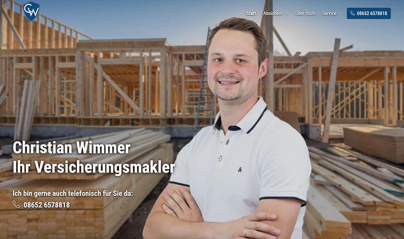 Christian Wimmer Versicherungsmakler für Handwerker