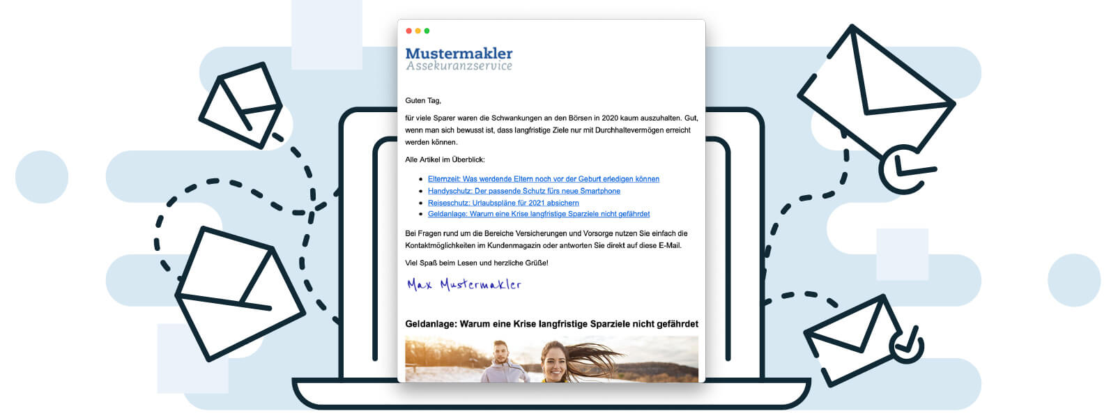 digidor Kundenmagazin per E-Mail an Ihre Kunden