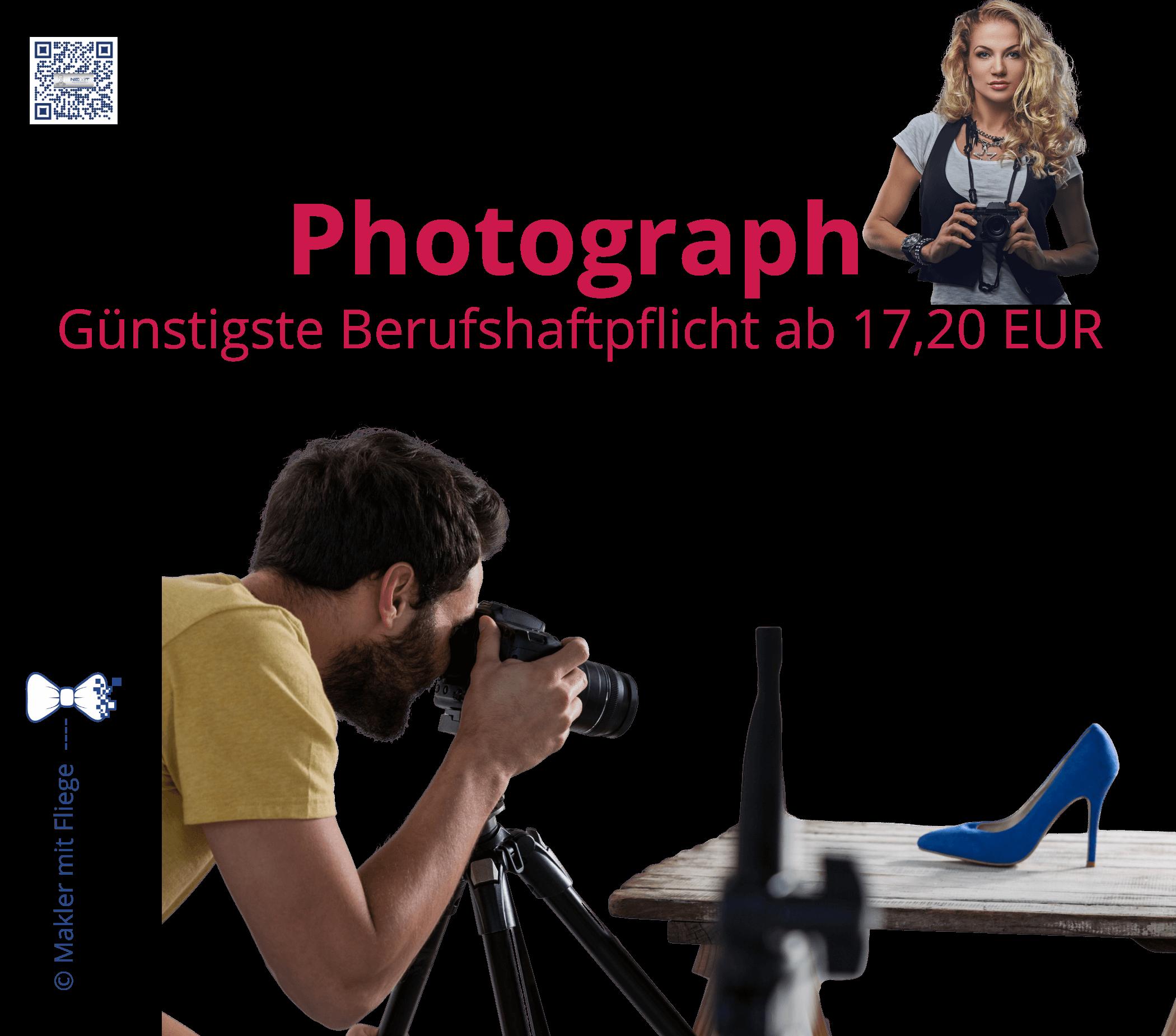 Kamera, Fotos, Videos, Schnitt, Ton... sichern Sie Ihren kreativen Beruf ab, um sich bei Kleinigkeiten nicht unnötig zu belasten