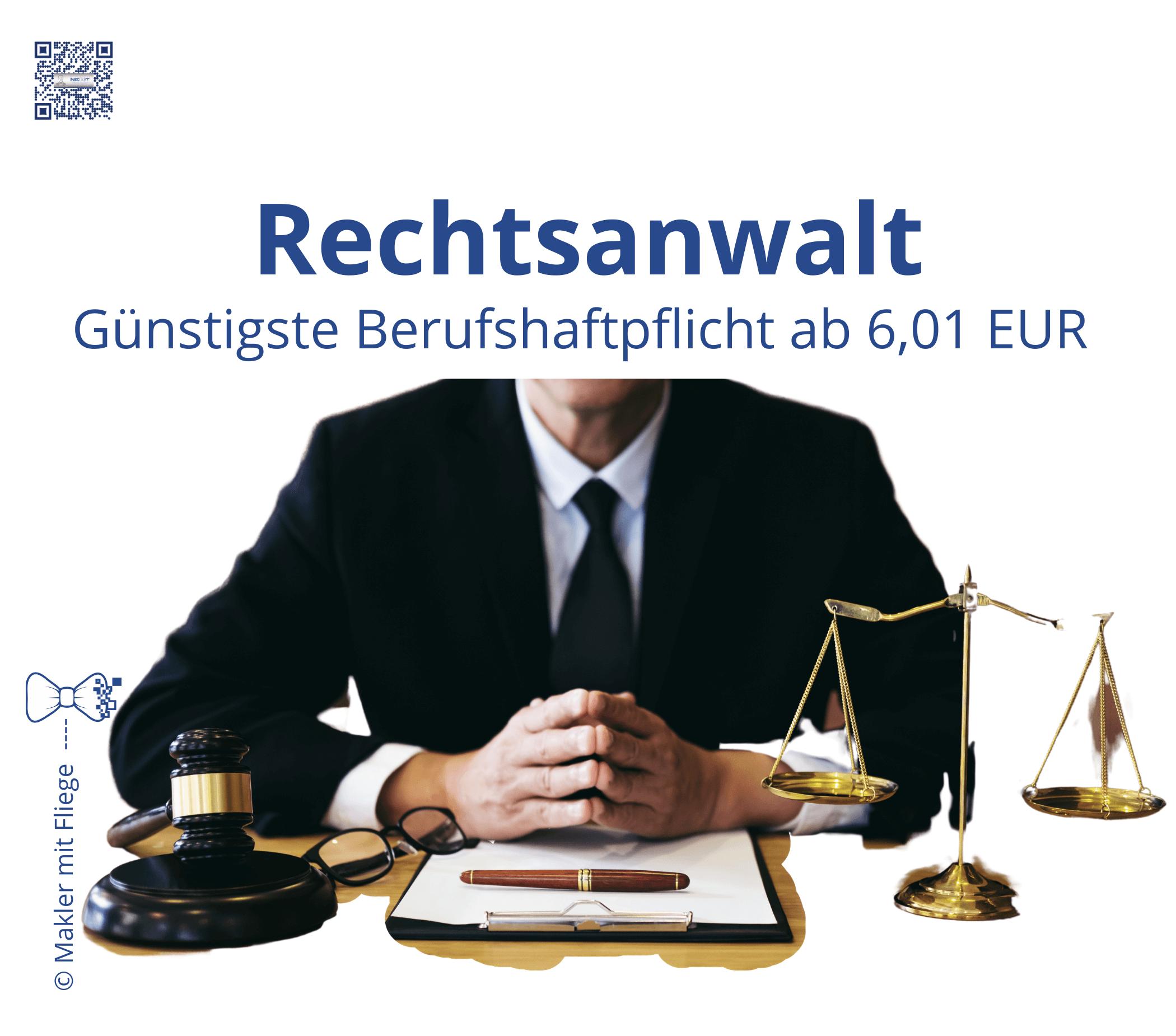 Rechtsanwälte in der Selbstständigkeit benötigen Ihren Vermögensschaden Absicherung. Hier gibt es den günstigsten Einstieg, um sich auf die Mandanten zu konzentrieren.